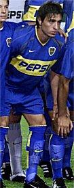 ¿Quiénes vistieron la camiseta de Boca Juniors?[Letra A]