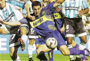Racing Club 1 - Boca Juniors 4 - Torneo Apertura 2003