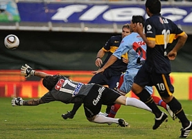 Boca Juniors 4 - Arsenal 0 - Torneo Clausura 2010